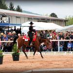 """Western Horsemanship"" Gewinnerin Sophia Spinnler auf Manavkas Magellan"