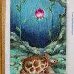 かまぼこの板絵コンクール 入選し蒲鉾頂きました。鈴廣蒲鉾絶品でした。