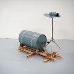 'untitled (basic drum kit)', 150 x 100 x 90 cm, 2006