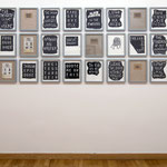 Exhibition view – '[: The : Complete : Rehearsal : Room : Recordings :]' G.K.F.A., Vienna, 2009
