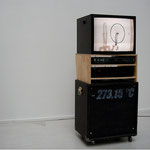 'untitled (150 RPM with Bass Amplifier)', 45 x 60 x 145 cm, 2003 - 2007
