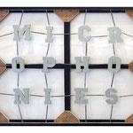 'untitled (MICROPHONIES)', 120 x 145 x 7 cm, 2012