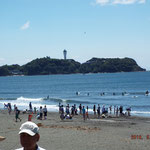 江の島もくっきり