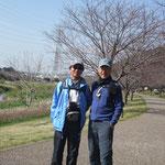 引地川親水公園の桜並木の開花もまだまだ先