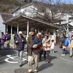 10:50 JR田浦駅出発