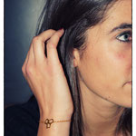 Bracelet Petites Bulles PM - Plaqué or fin