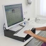 PC Arbeitsplatz in jedem Behandlungsraum