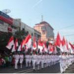学生の旗隊
