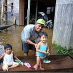 スブル地区洪水