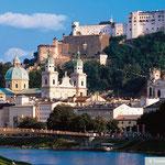 Satdt Salzburg - Salzburger Land Österreich