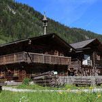 Sommer Urlaub Grossarl Chalet Ferienwohnung