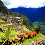 Inka Stadt Machu Picchu