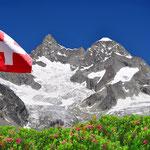 Schweizer Alpen Bergbestattung