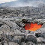 Vulkanbestattung Lavastrom