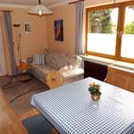 Wohnraum Ferienwohnung Freudenstein