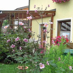 Garten Ferienwohnung Freudenstein