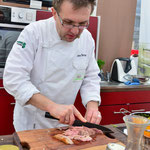 Showkochen mit Jens Becher