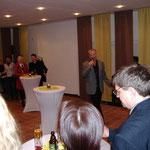 Schlagerstar Gerd Christian sang auf der Eröffnungsfeier