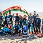 Kitesurfing camp