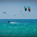 Kiting in Tarifa, World Kite Record
