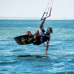 Advanced kitesurfing tricks