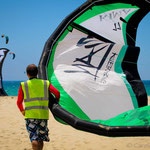 Zian Kiteboarding at Tarifa World Kite Record