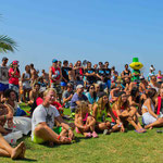 Crowd at Tarifa World Kite Record