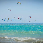 Kitesurf in Tarifa, World Kite Record