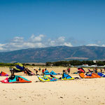 Kites at Tarifa World Kite Record
