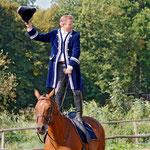 Vertrauen zum Pferd ist immer wichtig :)