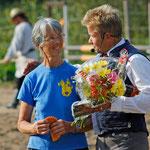 Hendrik und Irmgard, die diesen Preis echt verdient hat! :)