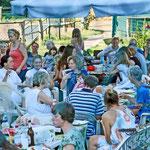 Gleich im Anschluss wurde unser Sommerfest gefeiert