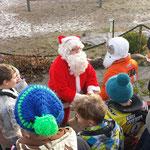 Der Weihnachtsmann beim MCE