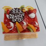 ストロベリーケーキ♥