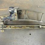 Jaspage à la boite sur bascule fusil juxtaposé Robust modèle 244