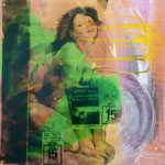 Le Cascadeur, 1991, Mischt./Fotoemulsion/LW, 100 x 100 cm, 700,--€