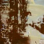 NY, Soho, 1993, Mischt./LW, 60 x 70 cm