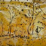 Im Wald, 1988, Mischt./LW, 154 x 112 cm, 1.200,--€