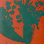 Rosen, 1993, Öl/LW, 60 x 70 cm, Privatbesitz