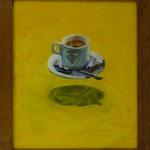 Flirgende Tasse, 2001, Hgl, 42x49cm, 250,-€