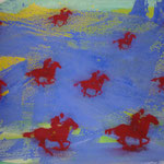 Rote Reiter, 1992, 144 x 105, 850,--€