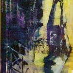 Hände hoch!, Ölpapier, 1988, 52 x 70 cm