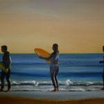 Surfer, 2005, Öl/LW, 130 x 96 cm, 900,--€