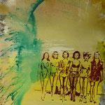 Girls,1996, Mischt./LW, 120 x 160 cm, 1.400,--€