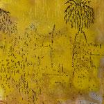 Palme, 1989, Mischt./LW, 110 x 140 cm, 1.100,--€