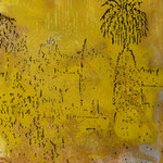 Palme, 1989, Mischt./LW, 110 x 140 cm