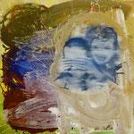 Überraschung, 1996, Mischtechn./LW, 125 x 125 cm