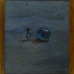 Blue Appel, 2003, Hgl, 42 x 47 cm, 250,-€