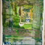 Perl Rosa, Aurora Serie, 1989, 30 x 42 cm