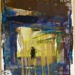 Durchgang, Ölpapier, 1988, 46 x 69 cm